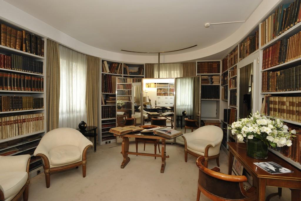 Inside Jeanne Lanvin's private office.