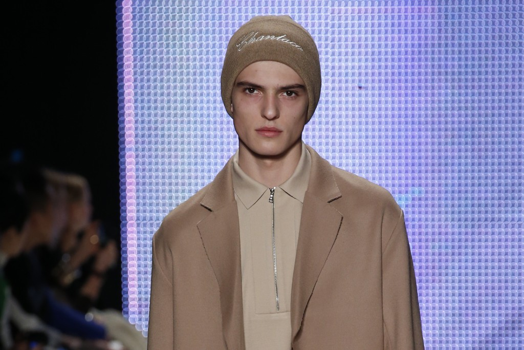 SHADES OF CAMEL: Lacoste RTW Fall 2014