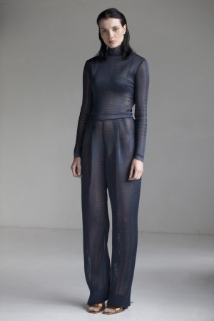 A look from the Lea Peckre for Maison Lejaby fall collection.