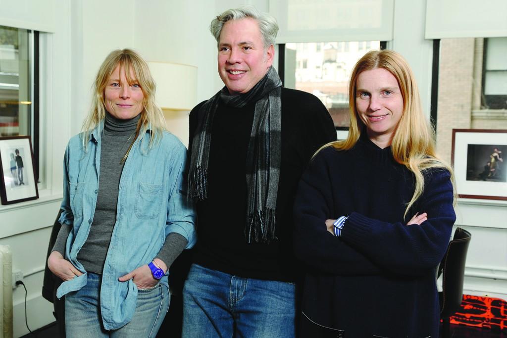 Luella Bartley, Robert Duffy and Katie Hillier.
