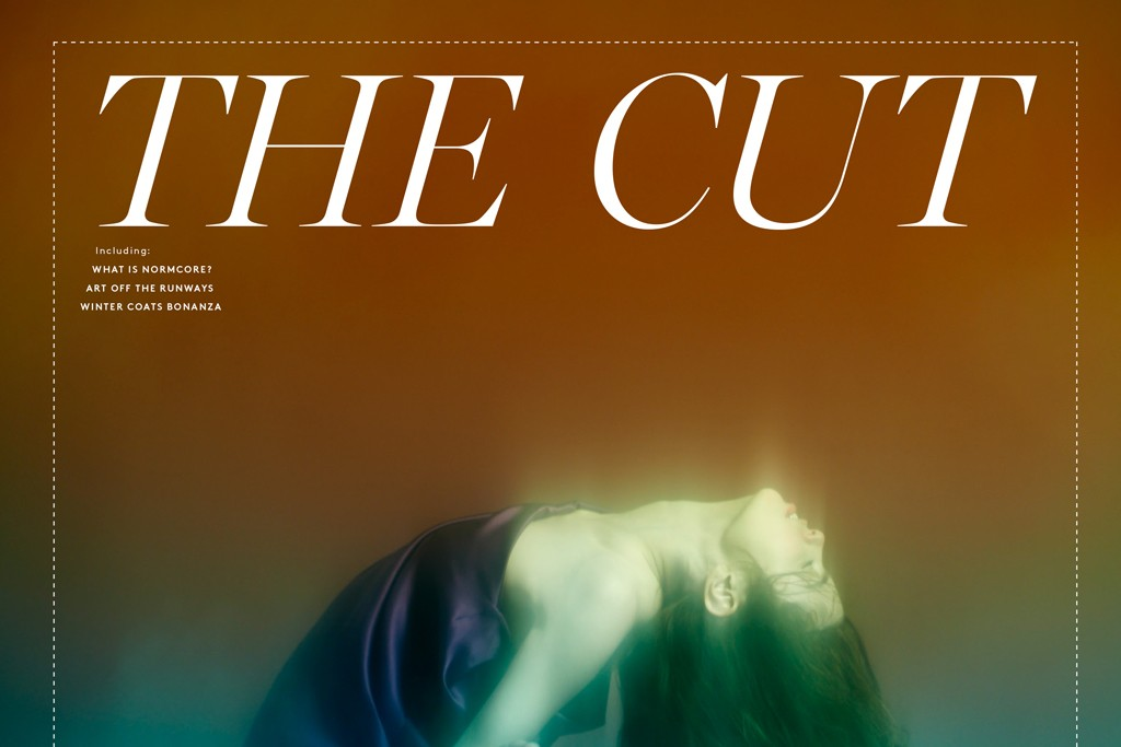 The cover image of The Cut's six-page inside spread shot by Maciek Jasik.