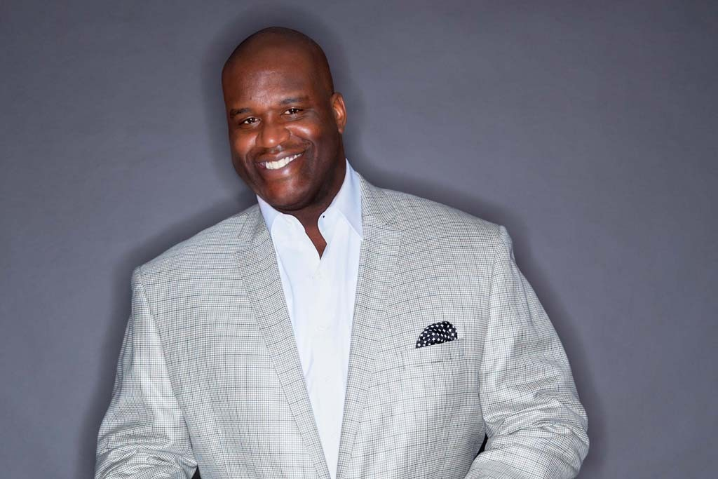 Shaquille O'Neal for Macy's.