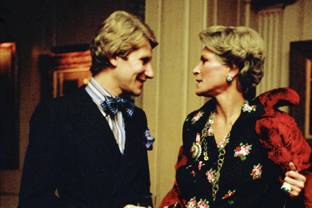 Yves Saint Laurent and Nan Kempner, 1972.