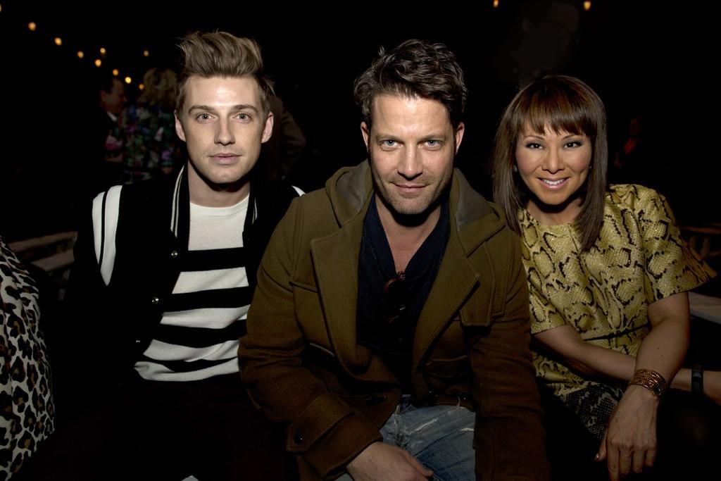 Jeremiah Brent, Nate Berkus and Alina Cho.