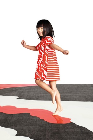 A children's design by Satu Maaranen for Petit Bateau.