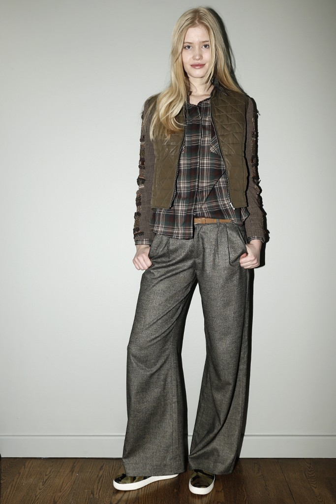 A look from Sam Edelman's apparel collection.