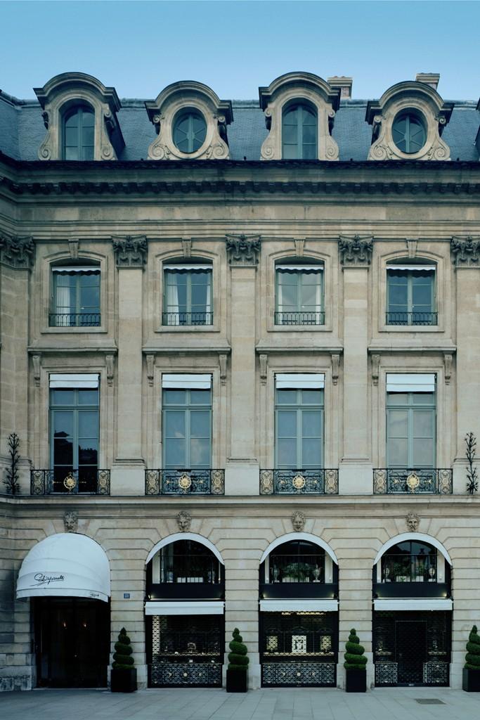 The Schiaparelli headquarters on Place Vendôme in Paris.