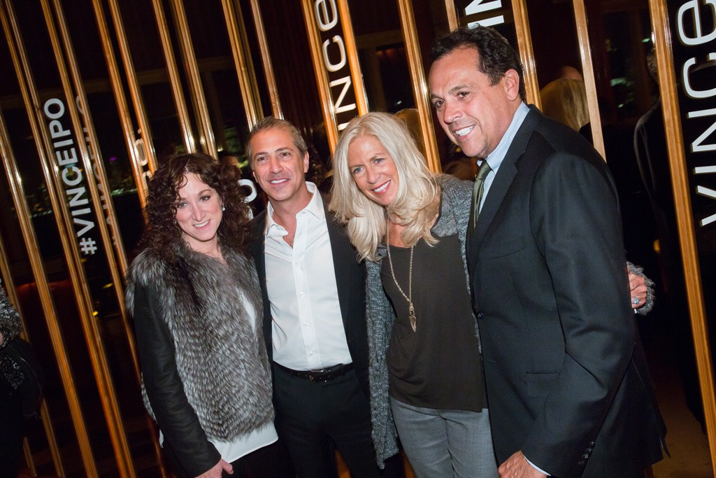 Jill Granoff and Marc Leder with Libby and Sam Edelman.