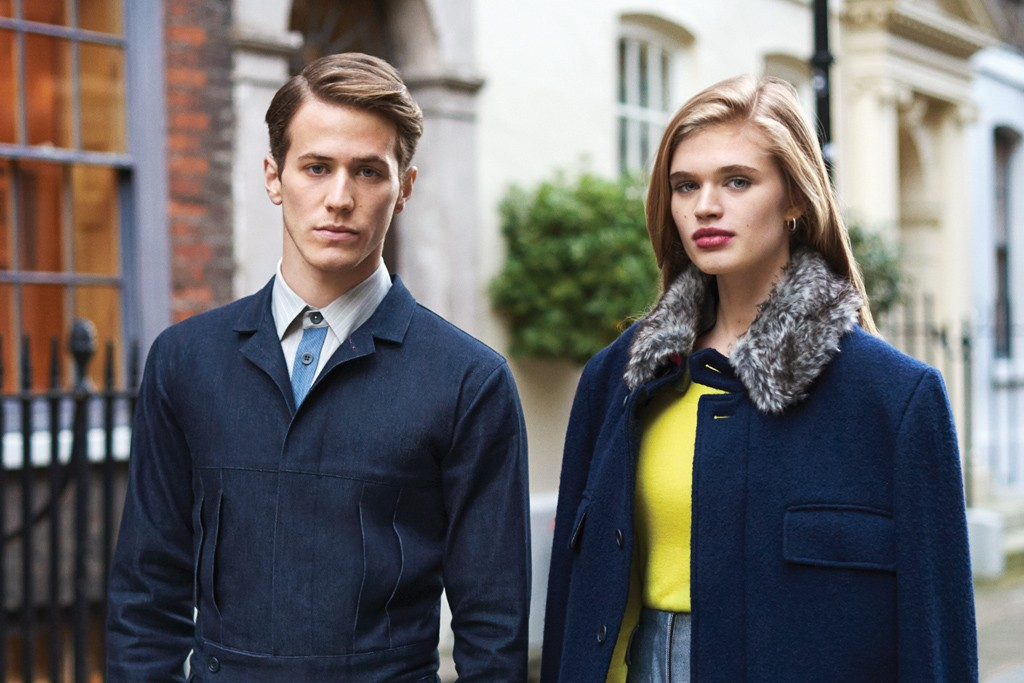 Looks from the Timothy Everest Woolmark collection.
