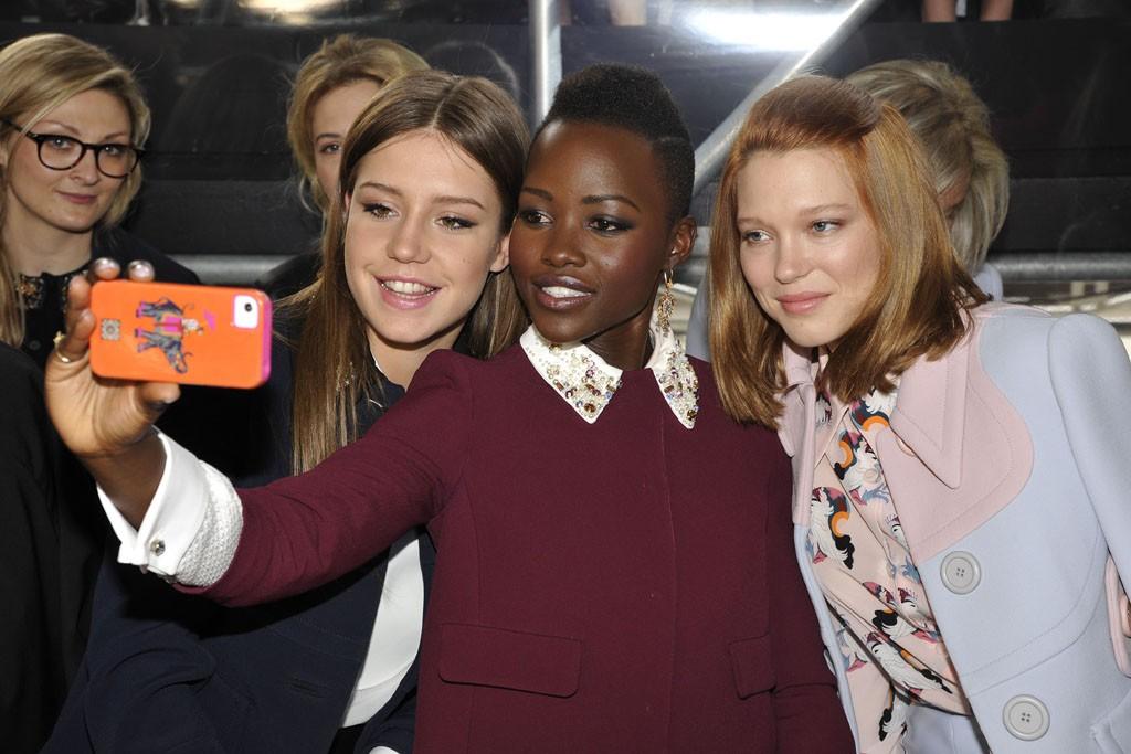 Adèle Exarchopoulos, Lupita Nyong'o and Léa Seydoux