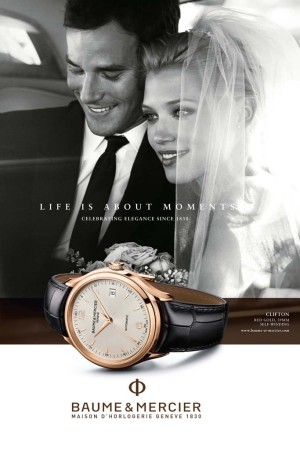 The Baume & Mercier campaign.