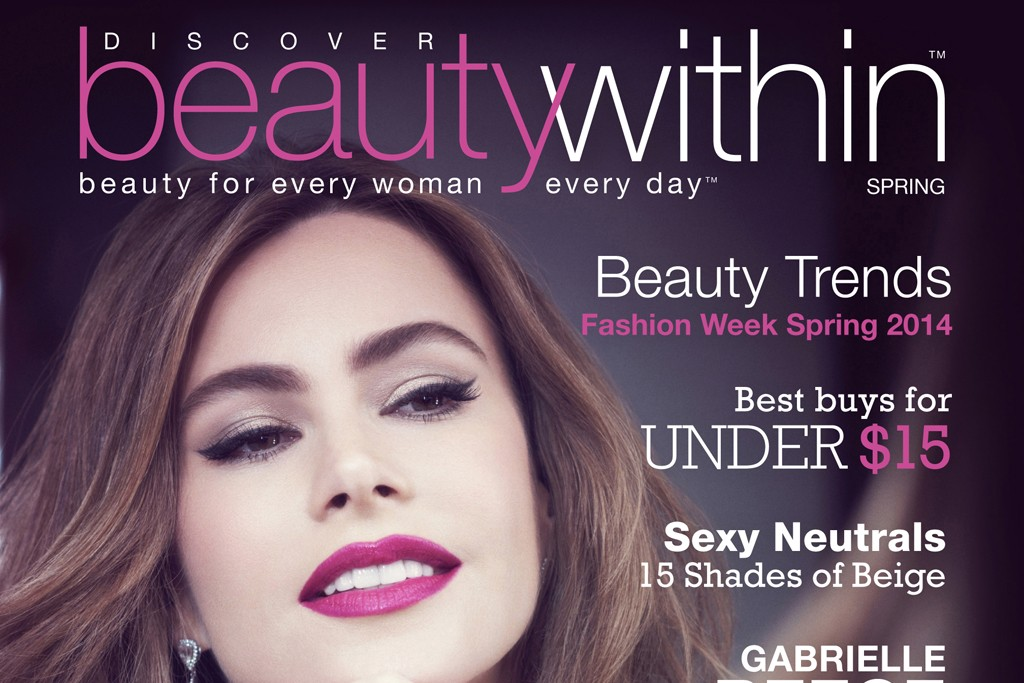 "Walgreens' ""Discover Beauty Within"" magazine."
