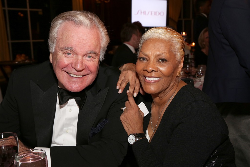Robert Wagner and Dionne Warwick