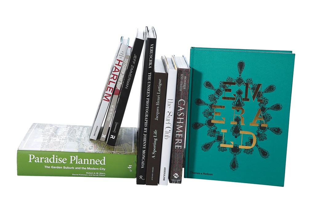 The current crop of photo, design and art books.