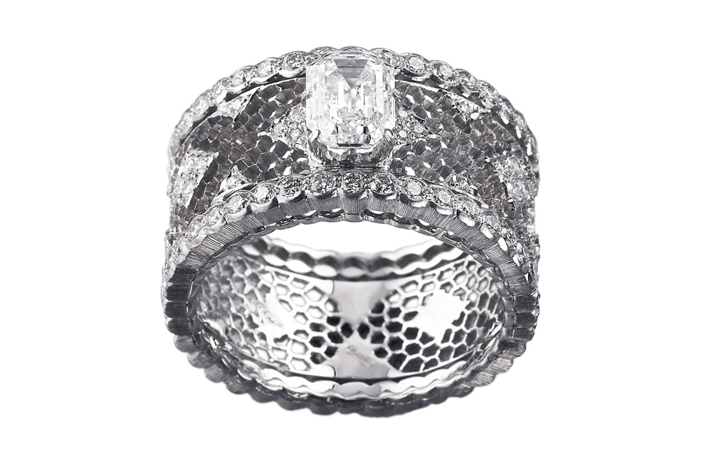 A ring from the Buccellati collection.