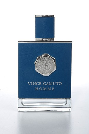 The Vince Camuto Homme bottle.