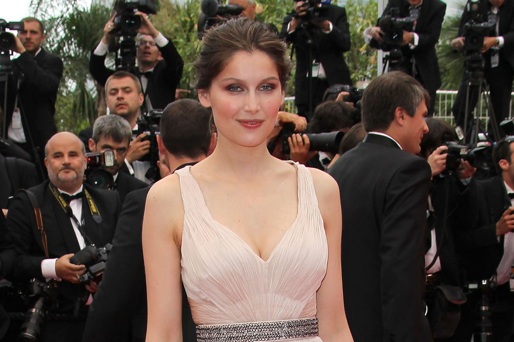 Laetitia Casta in Roberto Cavalli at Cannes, 2011.