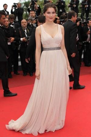 Laetitia Casta in Roberto Cavalli at Cannes, 2011.