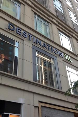 A Destination XL store location in Chicago.