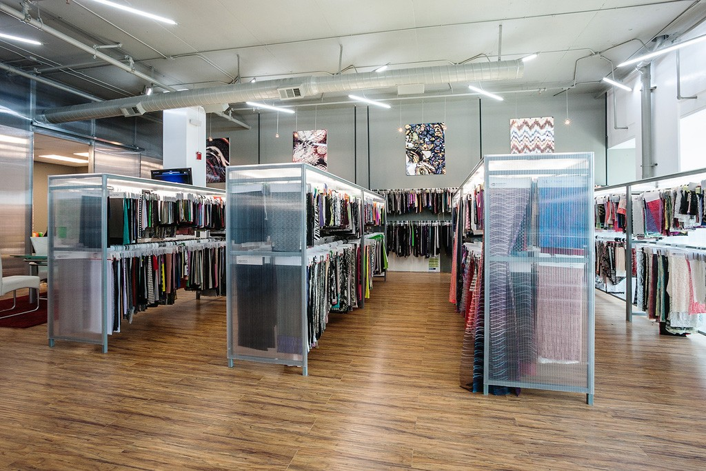 The Gyeonggi Textile Center in Los Angeles.