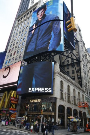 Express in Times Square.