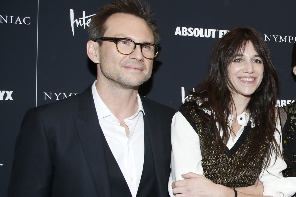 Christian Slater and Charlotte Gainsbourg