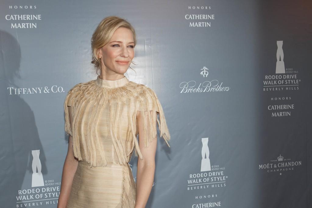 Cate Blanchette in Valentino.