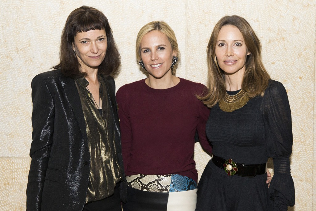 Jeanne Rohatyn, Tory Burch and Samantha Boardman