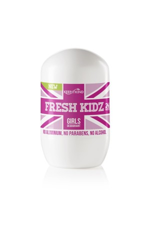 Fresh Kidz deodorant for girls.