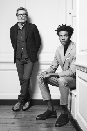Michel Perry and Charlie Casely-Hayford