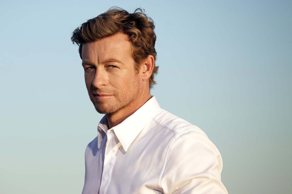 Simon Baker behind the scenes for Givenchy's Gentleman Only Intense campaign.
