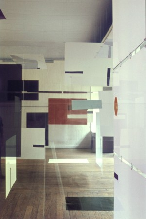 """A shot of the """"Richard Hamilton at the ICA"""" exhibition at London's ICA."""
