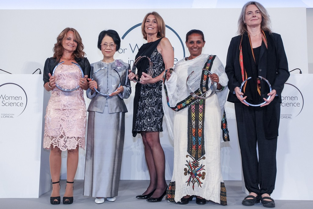 The For Women in Science 2014 laureates.