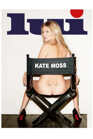 Kate Moss fronting Lui