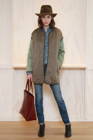 A fall look from Madewell.