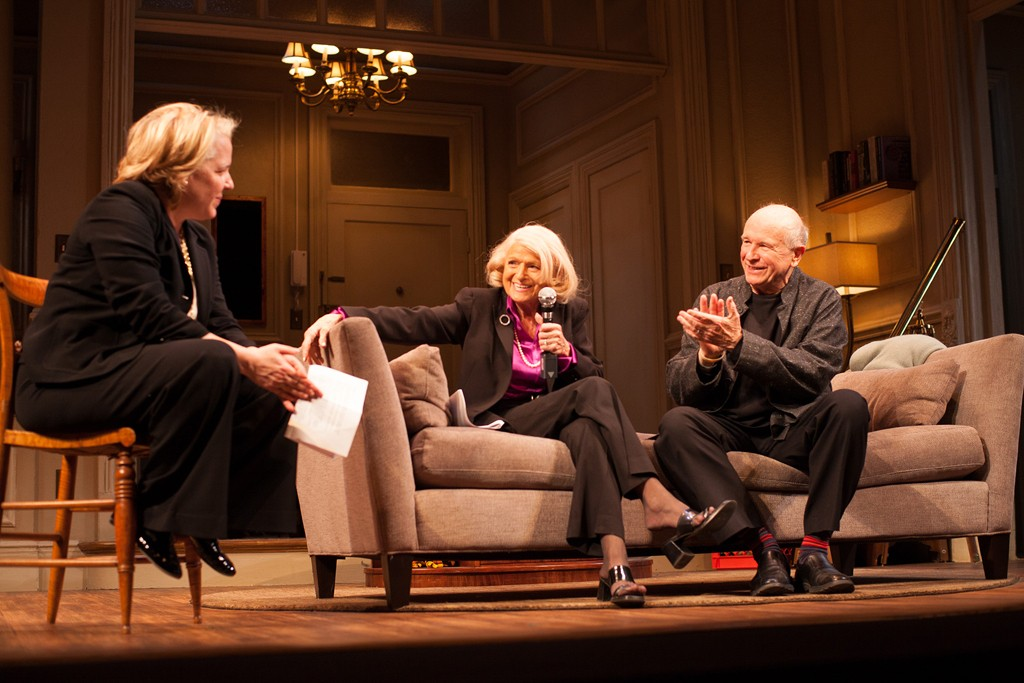 Roberta Kaplan, Edie Windsor and Terrence McNally in conversation.