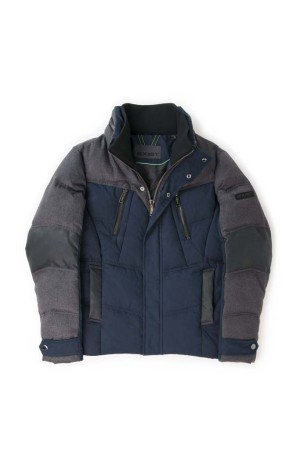A look from the men's outerwear line by 2(x)ist.