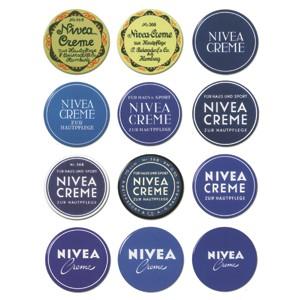 Nivea's iconic tin.