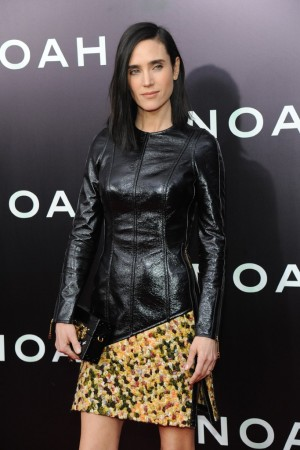 Jennifer Connelly in custom–made Louis Vuitton.