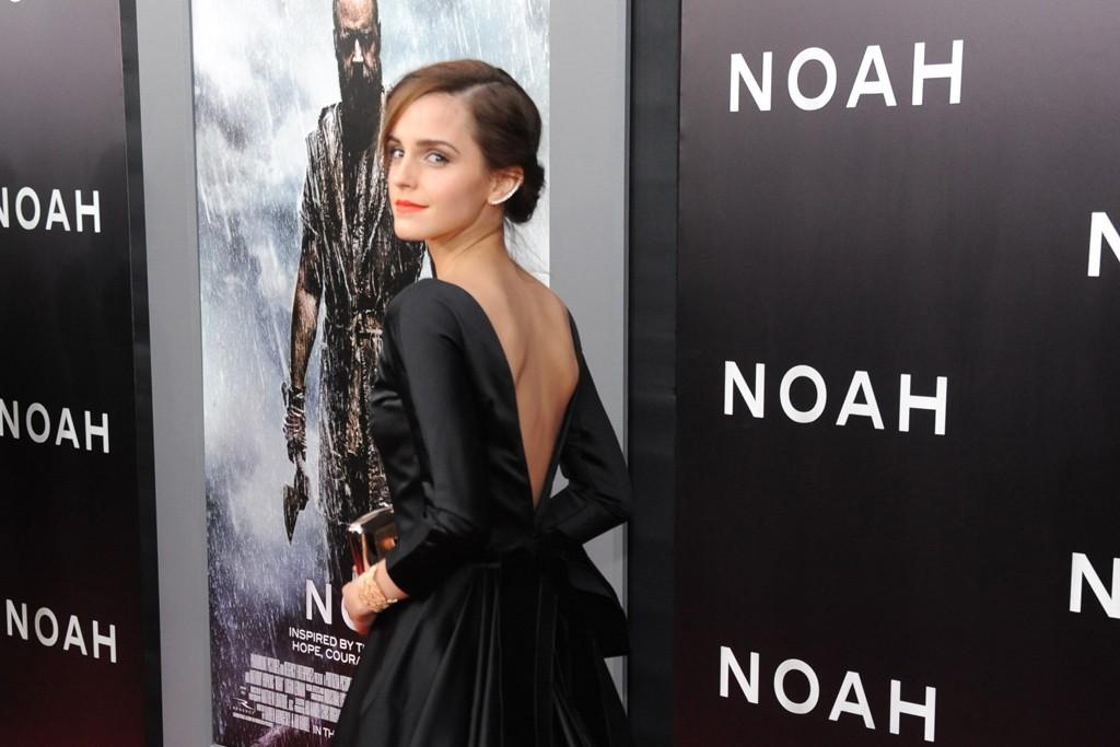 Emma Watson in Oscar de la Renta.