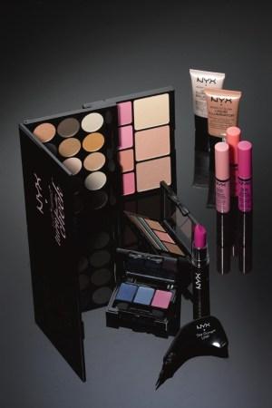 Items from NYX Cosmetics.