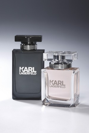 Karl Lagerfeld's signature scents.