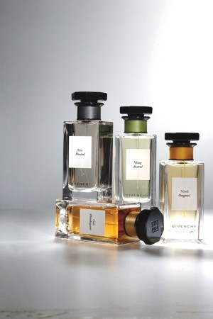 Givenchy's L'Atelier of fragrances.