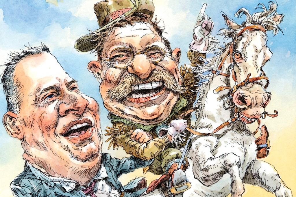 Rough riders? De Blasio borrows a word from Teddy Roosevelt