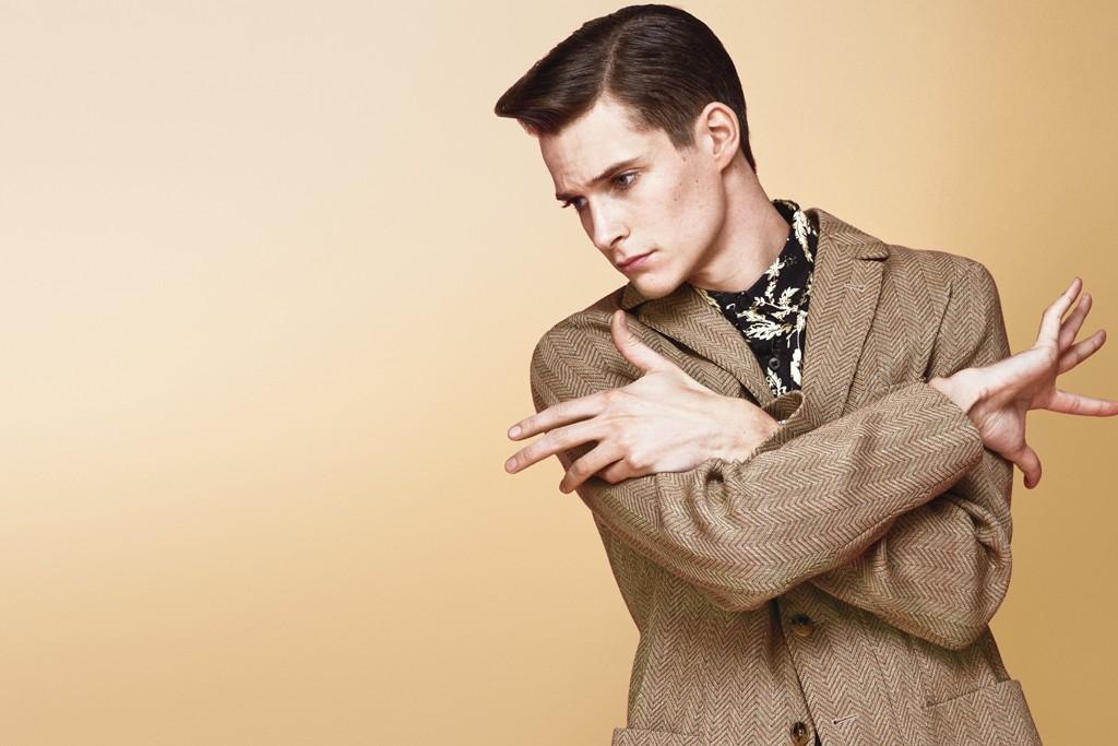 Missoni's cotton blazer and Dries Van Noten's cotton shirt.