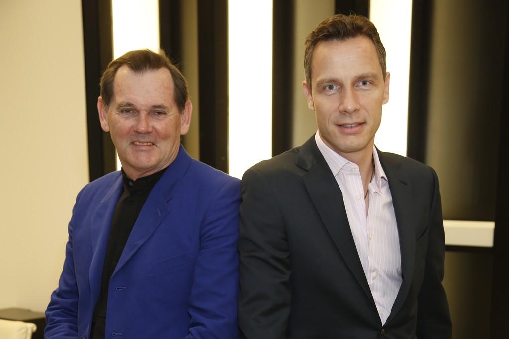 Bernd Beetz and Geoffroy van Raemdonck