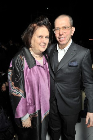 Suzy Menkes and Jonathan Newhouse