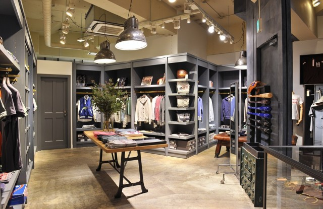 The Todd Snyder Store in Tokyo