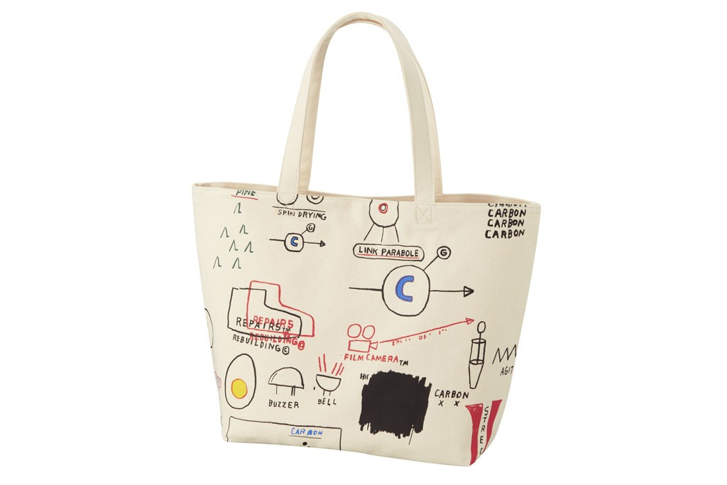SPRZ NY Jean-Michel Basquiat tote bag.