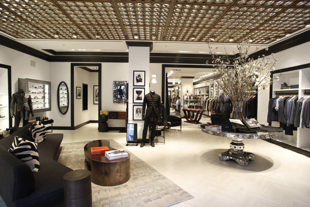The John Varvatos store on Madison Avenue.